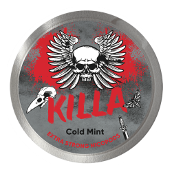 Killa Cold Mint Extra Strong All White Portion